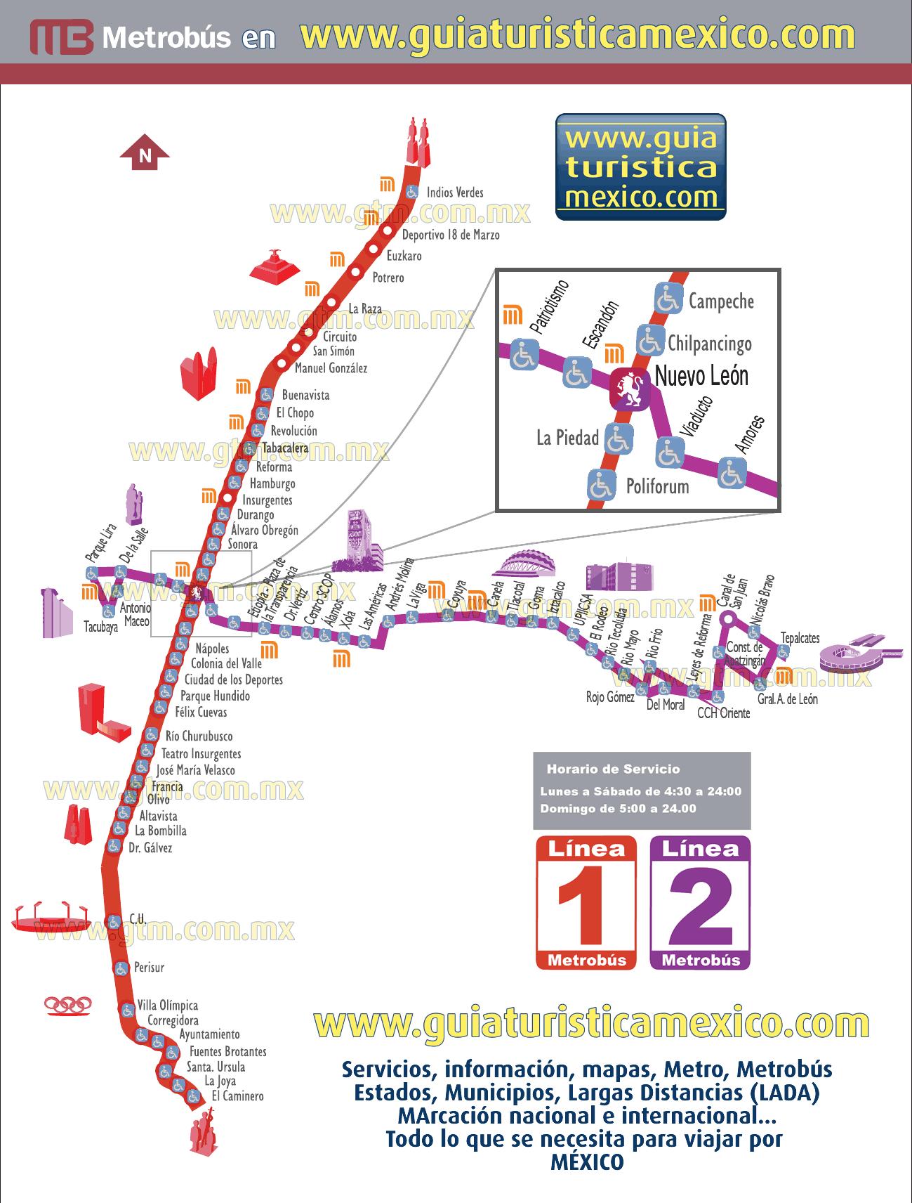 red del metrobus df pdf